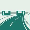 高速道路上の事故
